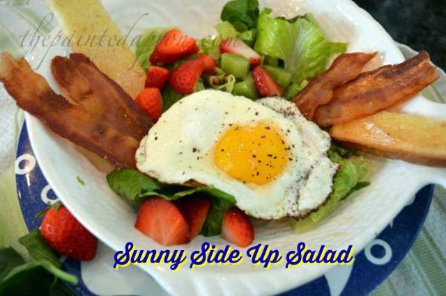 sunny side up salad