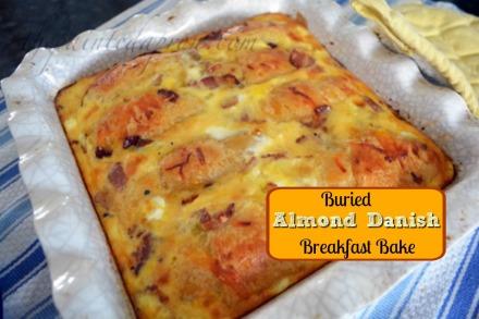 almond danish breakfast casserole