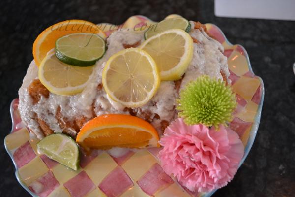 citrus lemon loaf
