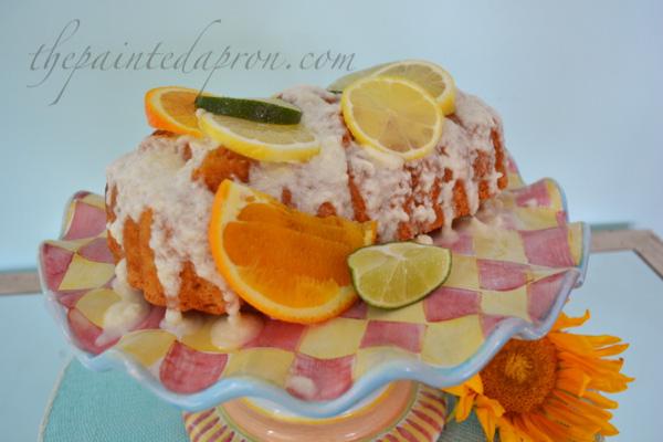 fresh lemon cake