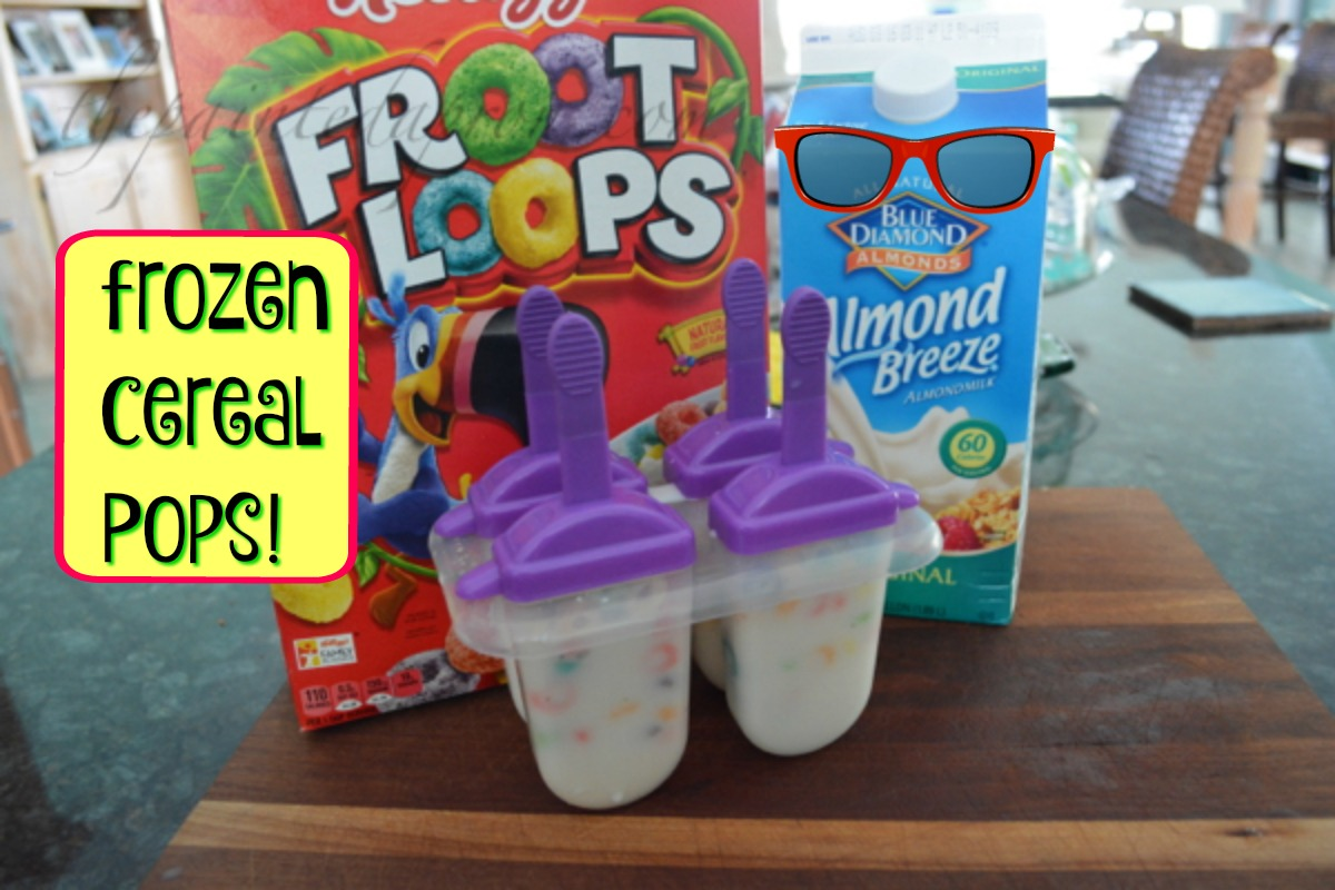 frozen cereal pops