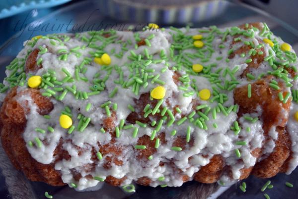 lime glazed lemon pound cake
