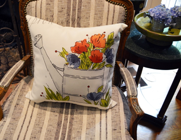 watering can pillow
