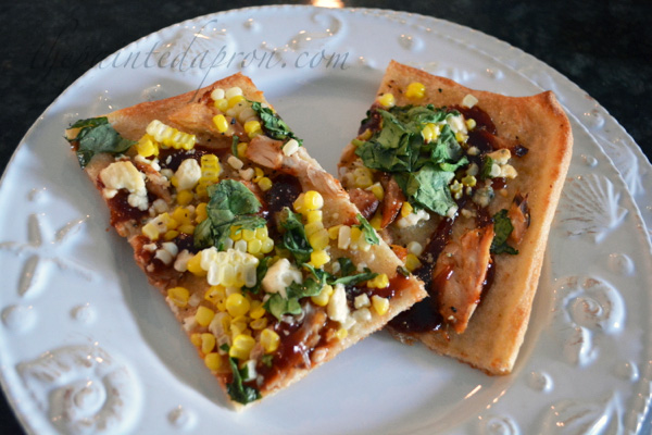 BBQ Chicken & Corn Pizza