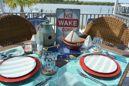 sailing table