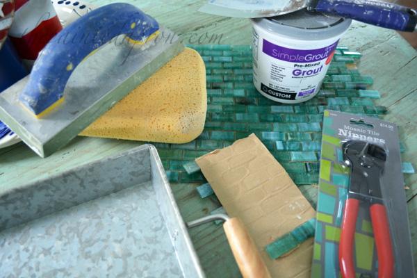 tile tray supplies
