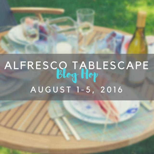 ALFRESCO TABLESCAPE sqaure