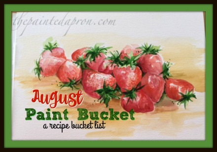 August Paint Bucket
