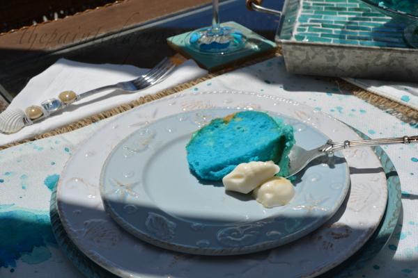 beach cake slice