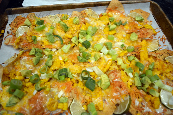 chili lime corn nachos