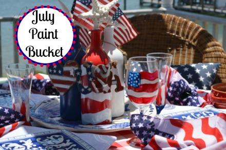 July Paint Bucket