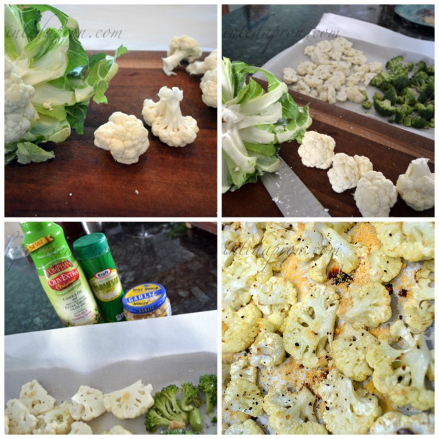 roasted Cauliflower collage