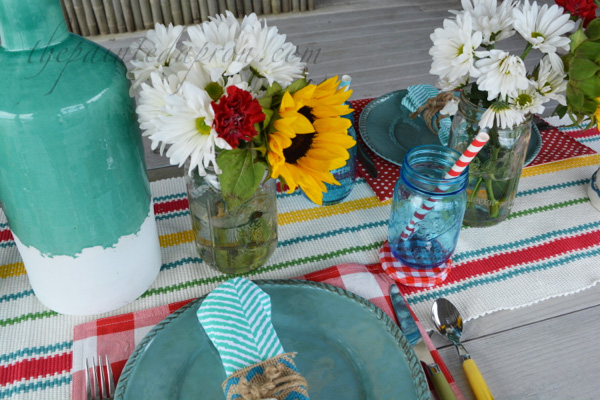 summer picnic place setting 2