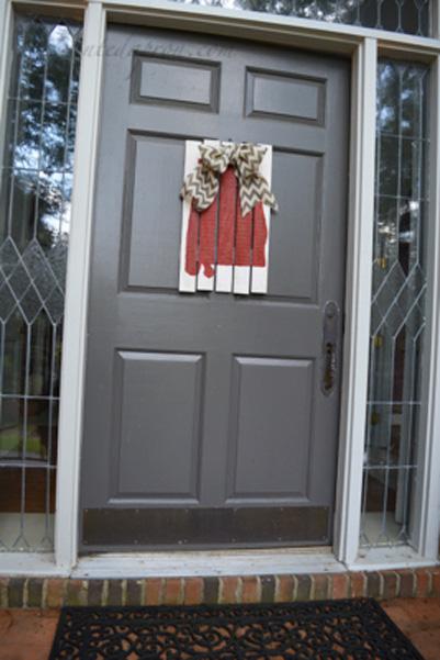 Alabama door decoration