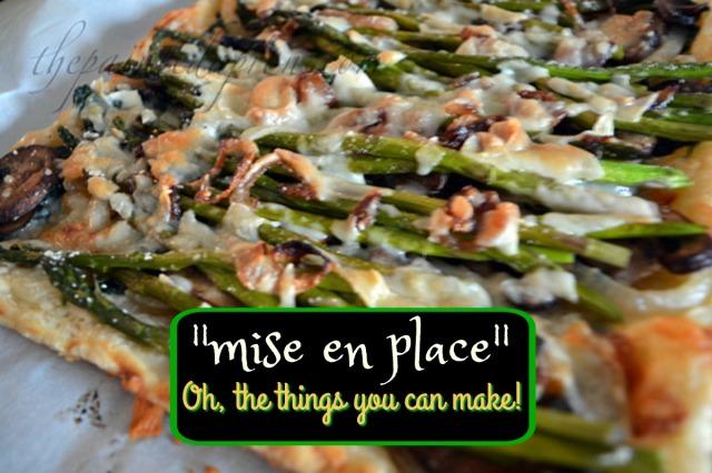 asparagus mushroom tart thepaintedapron.com