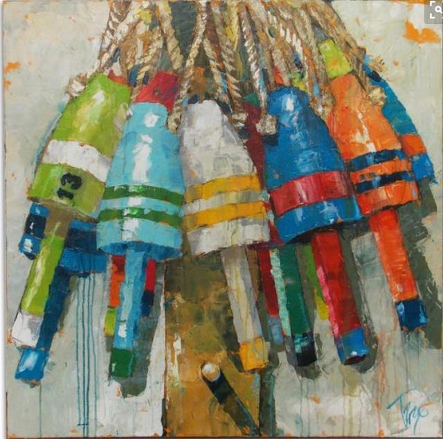 buoys by trip park