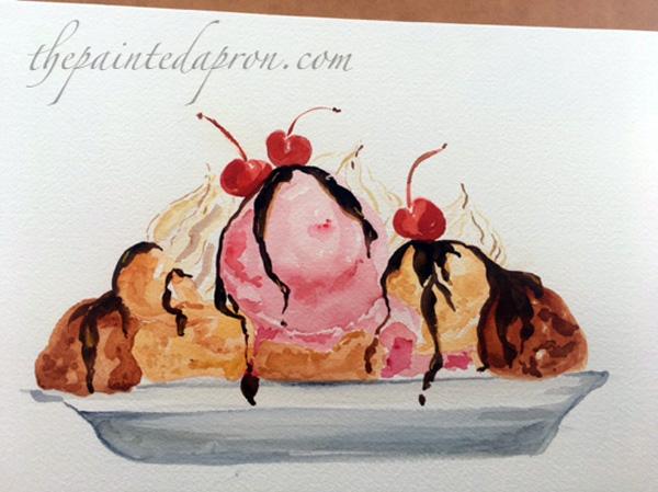 ice cream sundae 1 thepaintedapron.com