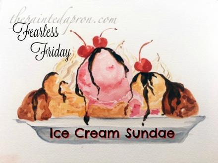 ice cream sundae thepaintedapron.com