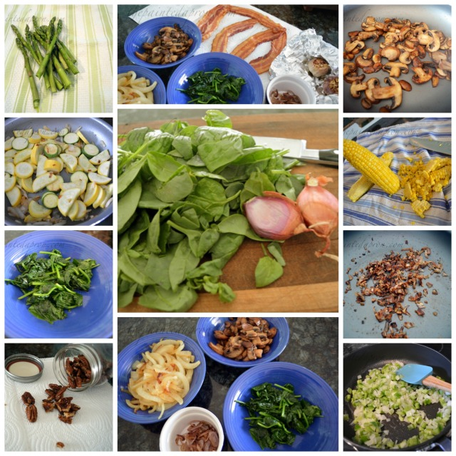 mise en place collage
