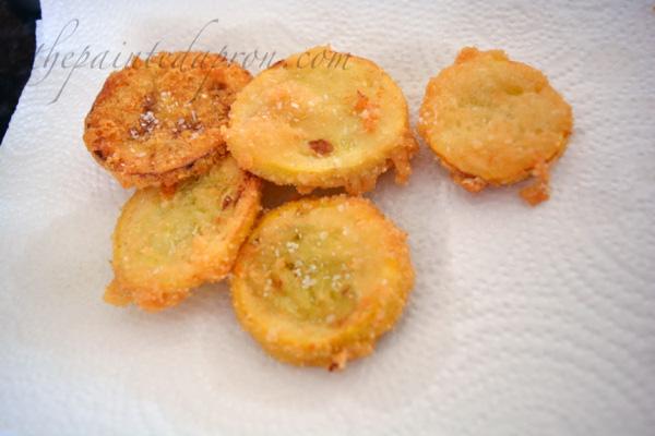 Parmesan squash croutons thepaintedapron.com
