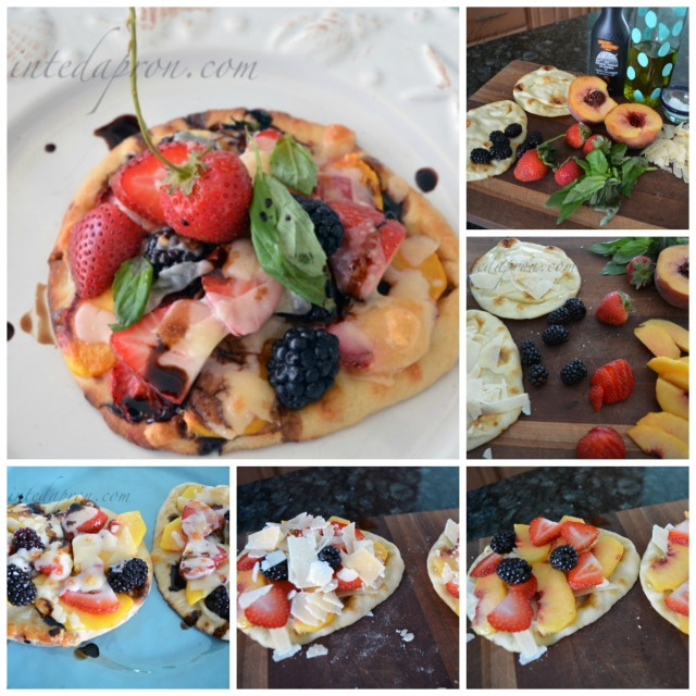 summer fruit collage