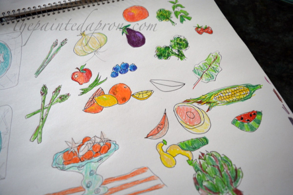 vegetable-sketch