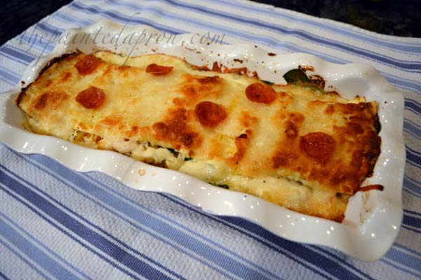 butternut-spinach-and-pepperoni-lasagna
