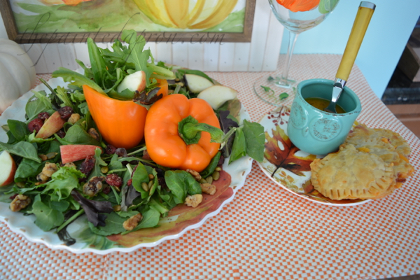 fall-salad-with-pumpkin-pies