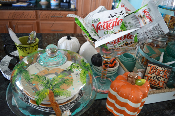 halloween-theme-snack-buffet