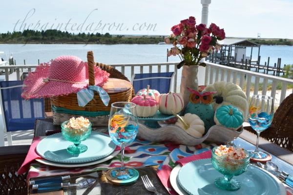 pink-pumpkin-table