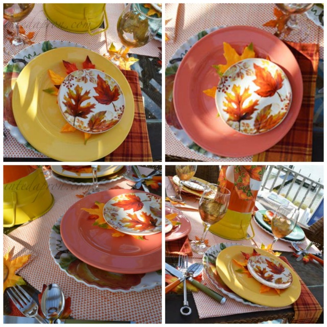 pumpkin-leaf-place-settings