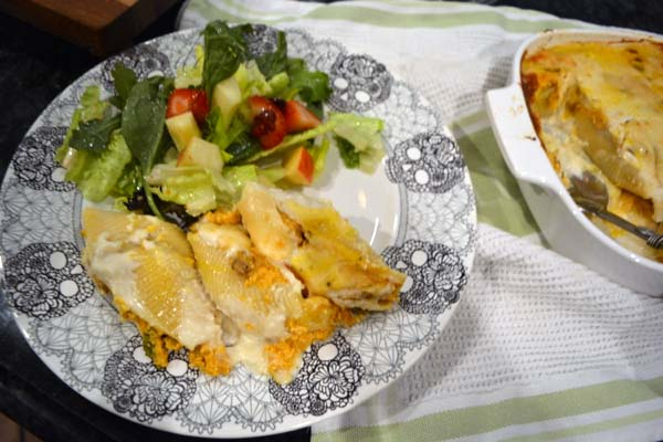pumpkin-sausage-stuffed-shells