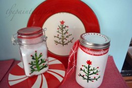 holiday tree jars