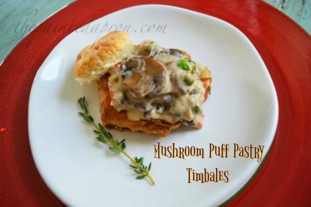 mushroom-puff-pastry-timbale