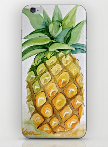 pineapple-iphone-skin