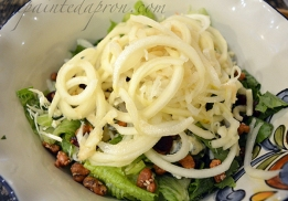 spiralized pears