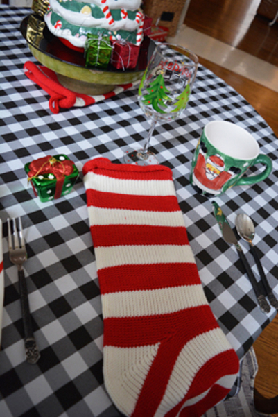 stocking-place-mat