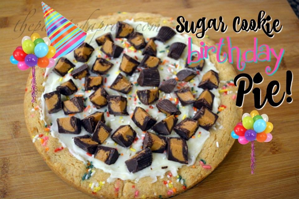 sugar cookie pie