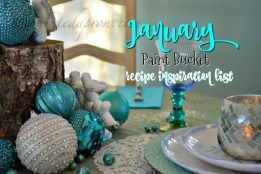 January Paint Bucket