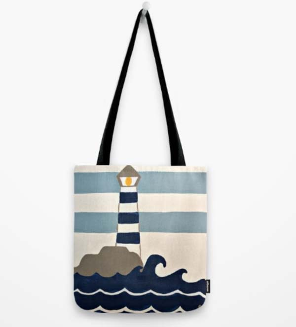 lighthouse-tote
