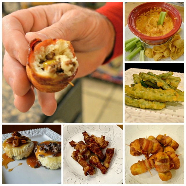 party-food-collage