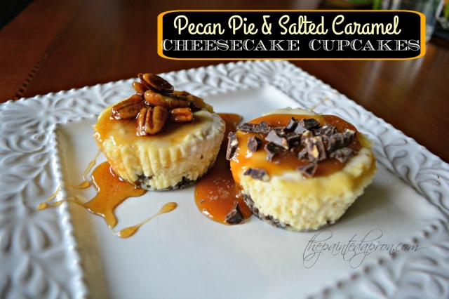 pecan-pie-salted-caramel-cheesecakes