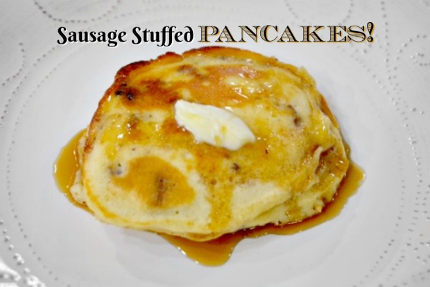 sausage-pancakes