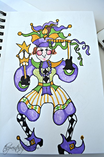 jester-drawing