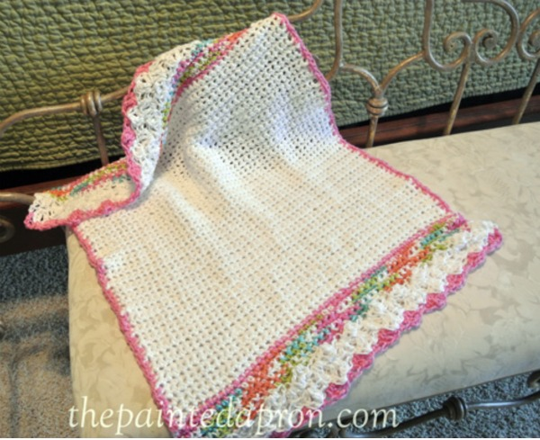 shell-stitch-edge-baby-blanket