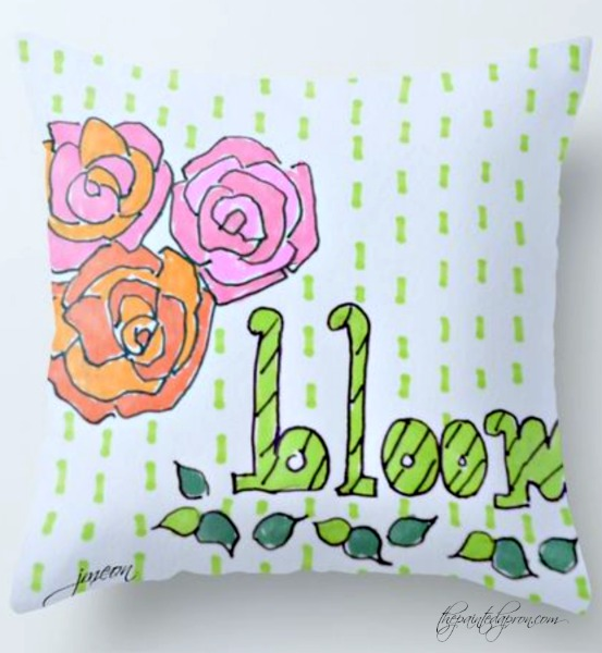 bloom-pillow