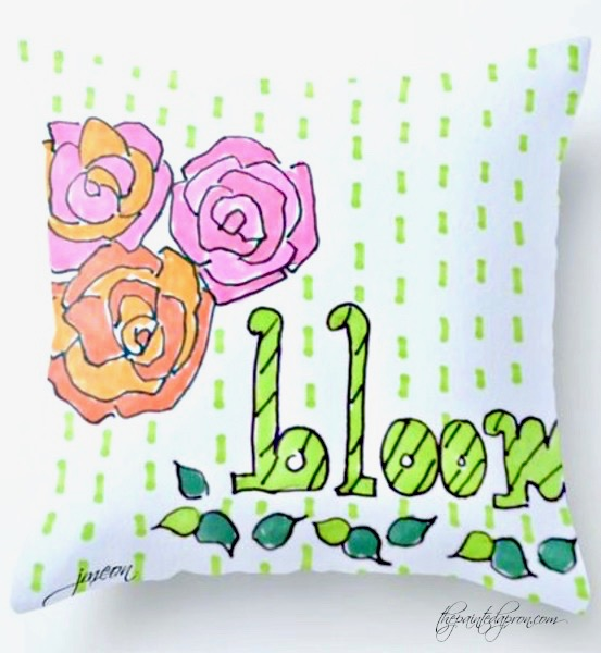 bloom-pillow