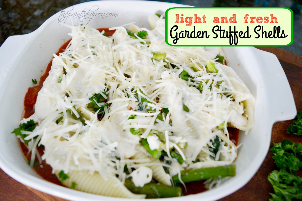 Recipe Box Light Amp Fresh Garden Stuffed Shells The