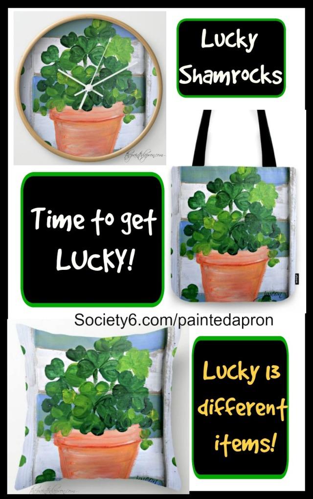 lucky-shamrocks-collage