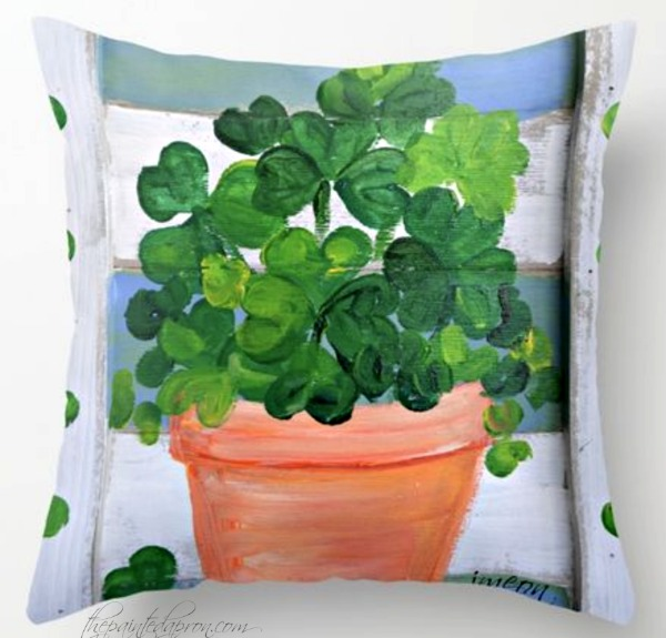 lucky-shamrocks-pillow
